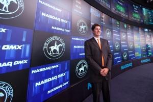 Closing the Nasdaq Stock Exchange 2011.