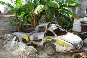 Batista's 1955 Gullwing that is allegedly located somewhere on Cuba.