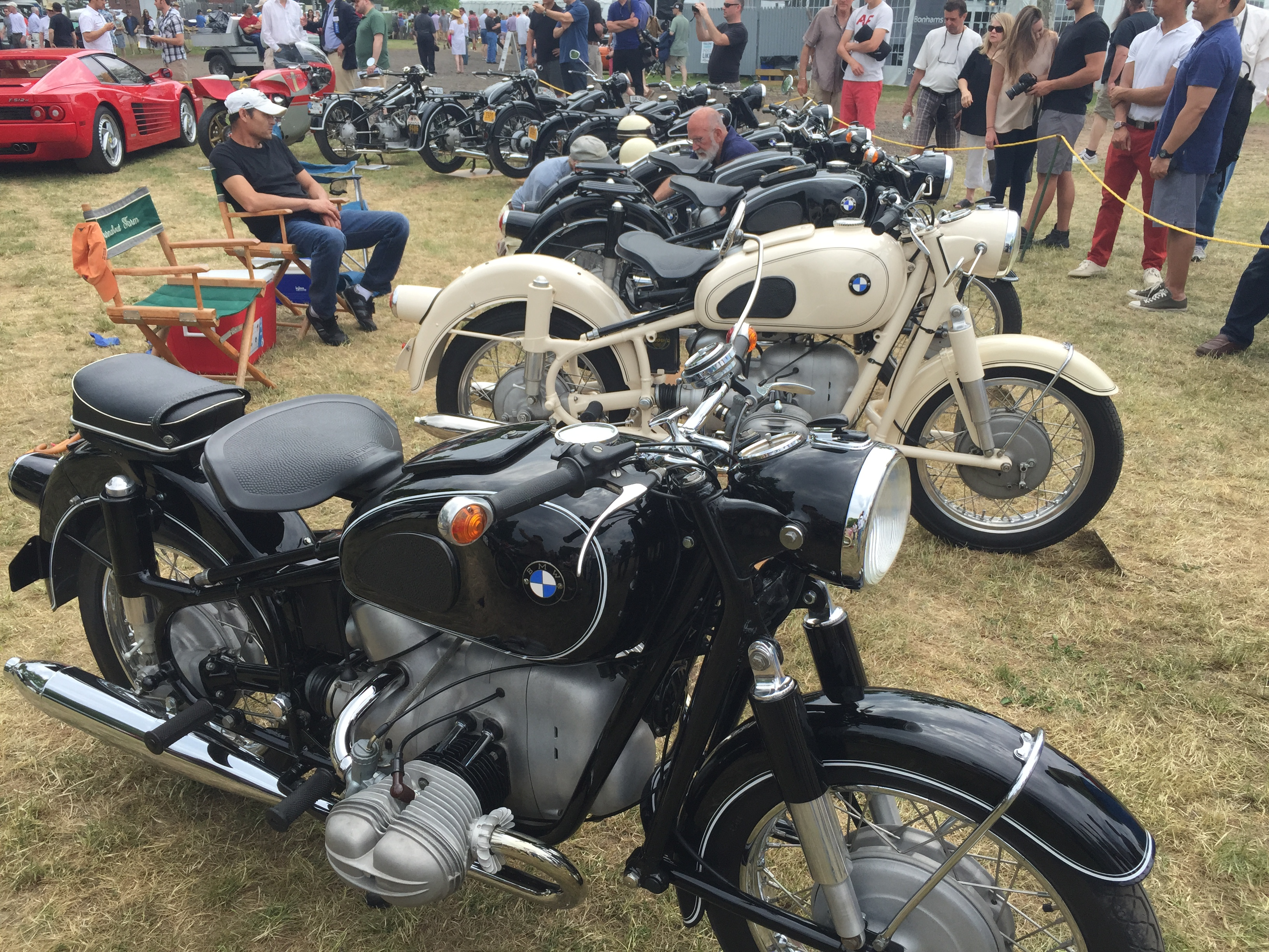 the 2015 greenwich concours d'elegance: a vintage bmw motorcycle