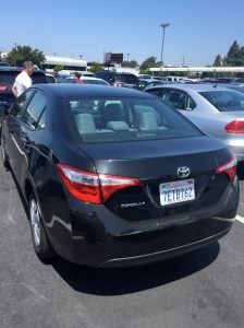The 2014 Toyota Corolla.  One of the worst cars I've ever driven.