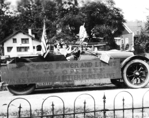 My grandmother Mary Hoffman, fourth of July 1932 Maysville Kentucky