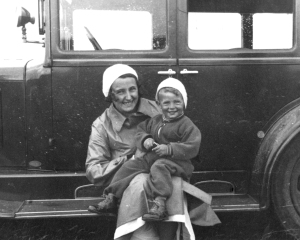 My father Max and his mother, Hamburg Germany 1936