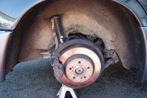 Before: Wheel wells have been meticulously detailed