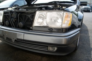 We will be respraying and repairing bumpers and replacing wiper blades on the headlights.