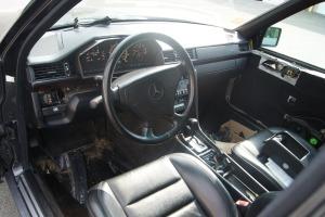 E500 interior in progress