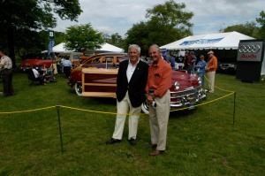My father Max with Malcolm Pray, Greenwich Concours 2010