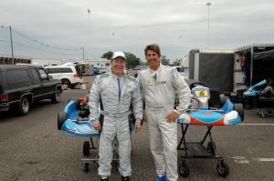Kart Racing with Scott Coleman, Raceway Park NJ 2010