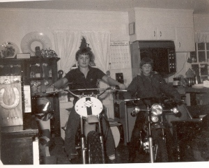 The Christmas of the motorcycles 1981