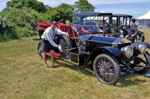Southampton Concours D'Elegance with Malcolm Pray's 1912 Rolls Royce Silver Ghost