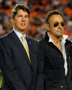 Philip with the Boss, Miami Stadium 2014