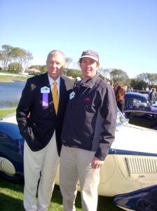 Philip with Car Crazy Barry McGuire, Amelia Island 2006