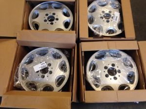 Original factory wheels from Wheels, Tires and More.