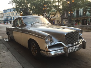 An old Studebaker Hawk in Havana.
