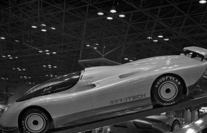 The 1988 Oldsmobile Aerotech was the star of the show....