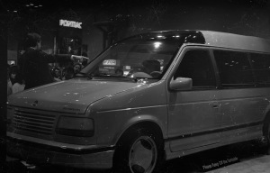 A Chrysler Caravan concept vehicle.