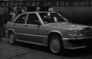 A 1988 Mercedes-Benz 190E 2.3-16.