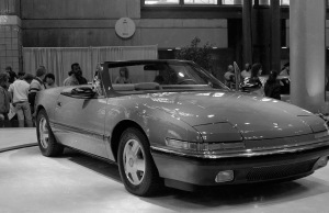 The Buick Reatta Convertible, a sales failure but a valiant effort by GM....