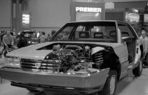 The Eagle Premier cut away car.
