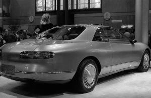 A Lincoln concept car