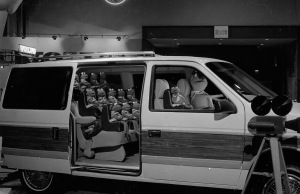 The Chrysler Minivan complete with Kermit's family....