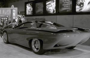 A nameless concept car