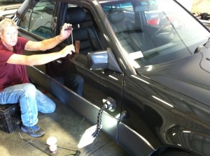 Paintless dent removal process is further enhancing the appearance of the exterior.