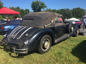 This Horch was my favorite car at the show