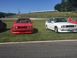 A pair of nice but well used E30 M3's